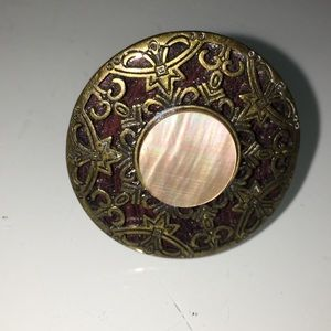 Jewelry - Wooden ring with stone